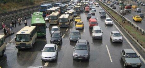 Bursa'da araç sayısı Nisan ayı sonu itibarıyla 750 bin 488 oldu
