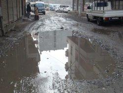Diyarbakır sokakları bakımsız