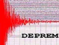 İskenderun'da 4,5 büyüklüğünde deprem