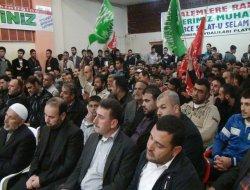 Kilis'te Muhammedi Sevda salona sığmadı