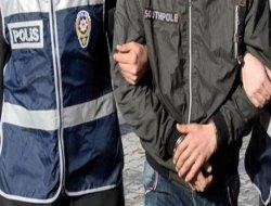 Hırsızlık iddiasıyla bir kişi tutuklandı