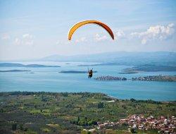 Bursa'da yamaç paraşütçülüğü