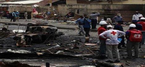Li Nîjeryayê êrîşa bombeyî: 21 mirî