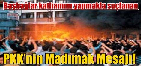 PKK'nin Madımak Mesajı!