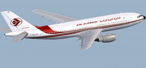 Cezayir yolcu uçağı düştü