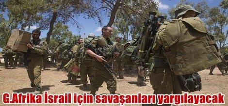 G.Afrika İsrail için savaşanları yargılayacak