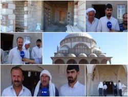 Çınarda üç yıldır inşaatı devam eden köy camisi yardım bekliyor
