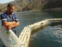Çermik'te balık işletmecileri zor durumda