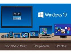 Microsoft'tun yeni işletim sistemi 'Windows 10'