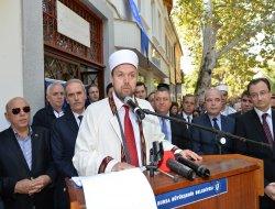 Bulgaristan'da bir cami ibadete açıldı bir caminin de temeli atıldı