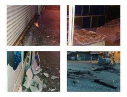 Hani'de PKK çeteleri işyerlerini tahrip etti