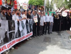 Antalya'daki İslami STK'lardan şehitler için gıyabi cenaze namazı