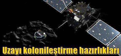 Uzayı kolonileştirme hazırlıkları
