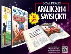 İnzar Dergisi Aralık 2014 Sayısı Çıktı