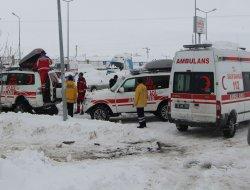 Tipide kaybolan ambulansa ulaşıldı