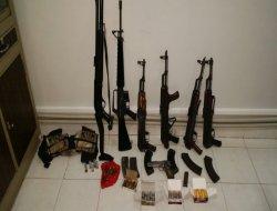 Çınar'da kaçak silah yakalandı