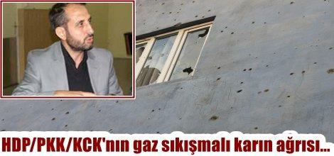HDP/PKK/KCK'nın gaz sıkışmalı karın ağrısı...