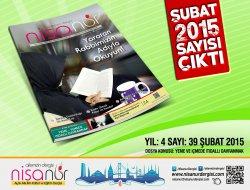 Nisanur Dergisi Şubat 2015 Sayısı Çıktı