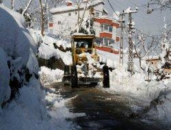 Rize'de kar uyarısı
