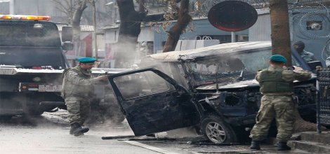 Afganistan Türkiye Büyükelçiliği'ne intihar saldırısı:1 ölü