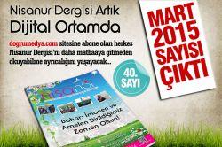 Nisanur Dergisi Mart sayısı çıktı