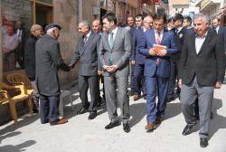 Mardin Valisi Ömer Faruk Koçak, Savur'da incelemelerde bulundu