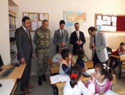 Ergani Kaymakamı Eşref Yonsuz'dan köy ziyareti