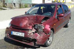 Çınar dörtyoldaki ışıklarda trafik kazası: 1 yaralı foto