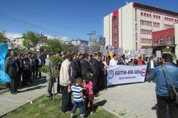 Van Erciş'ten Mursi'ye destek