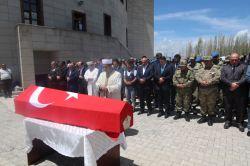 Van'ın Erciş'te PKK'li tarafından öldürülen korucu defnedildi