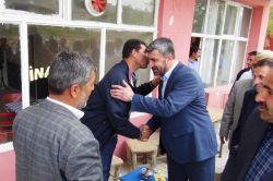 Bitlis bağımsız adayı Karakaya, Hizan esnafını ziyaret etti