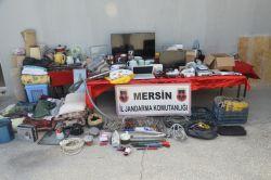 Mersin'de kablo hırsızları tutuklandı