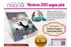Nisanur Dergisi Haziran sayısı çıktı