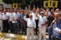 İskenderun'dan Mursi ve arkadaşlarına destek-foto
