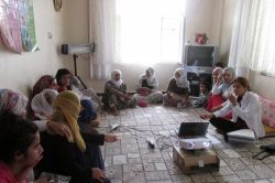 Kulp'ta kadınlara yönelik eğitim