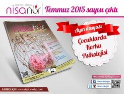 Nisanur Dergisi Temmuz 2015 Sayısı Çıktı