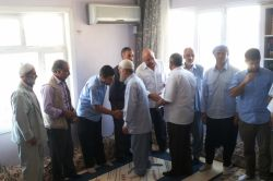 Ergani Kardeş Der bayramlaşma merasimi düzenledi