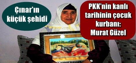 PKK'nin kanlı tarihinin çocuk kurbanı: Murat Güzel video foto