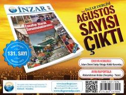 İnzar Dergisi Ağustos Sayısı Çıktı