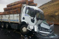 Eleşkirt'te trafik kazası: 2 ölü