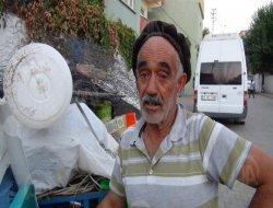 Çınarda 70 yaşındaki Mahmut Temircan, 11 nüfuslu aileyi geçindiriyor