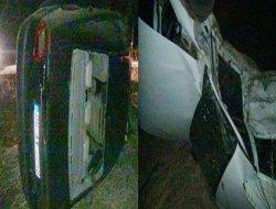 Çınarda iki otomobil çarpıştı: 3 yaralı video-foto