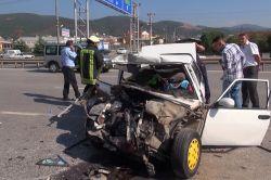 Kocaeli'de yaşanan trafik kazasında 1 kişi hayatını kaybetti