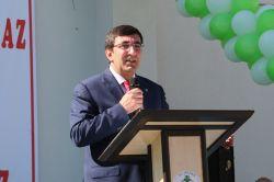Başbakan Yardımcısı Yılmaz Solhan'da açılışlara katıldı