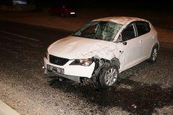 Midyat'ta trafik kazası : 3 yaralı