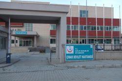 Çınarda açılışı yapılmayan hastaneden 27 adet televizyon çalındı