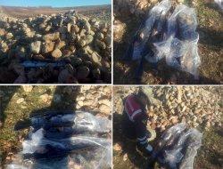 Çınar'da silah kaçakçılarına baskın