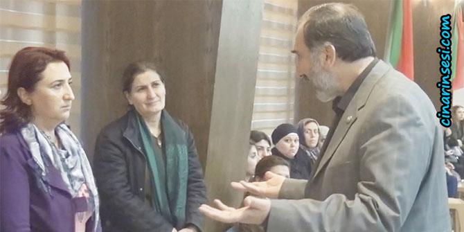 HÜDA PAR'dan Tahir Elçi'nin ailesine taziye ziyareti