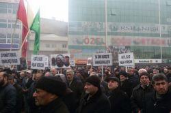 Iğdır'da Ayetullah Nemr'in idamı kınandı