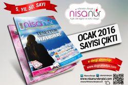 Nisanur Dergisinin 50. sayısı çıktı